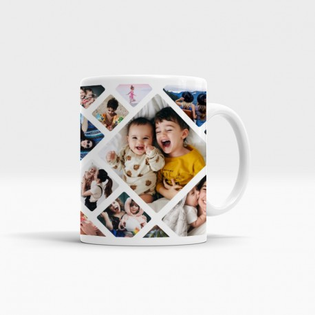 Taza Personalizada Collage