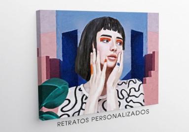 Comprar retratos personalizados online. ¡Tus pedidos tienen premio!